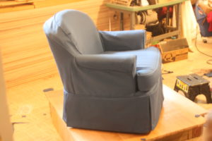 swivel rocker AFTER slipcover