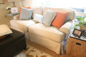 custom slipcover