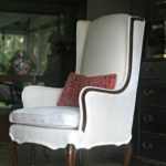 The easiest style chair to reupholster and how to make double welt.